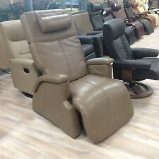 PC-085 Human Touch Perfect Chair Transitional Zero-Gravity Recliner - Cashew