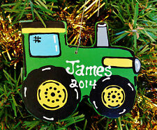 U CHOOSE NAME & YEAR Personalized FARM TRACTOR ORNAMENT Christmas Holiday