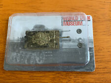 Takara 1/144 WTM 7 World Tank Museum Tiger 1 Ausf. E Camo Model Figure