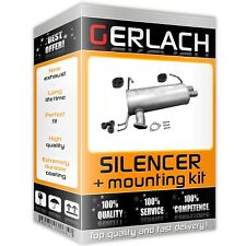 Silencer for Mitsubishi Outlander 2.4 Mivec from 2007 exhaust rear 4708