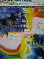 THE MOODY BLUES - DAYS OF FUTURE PASSED - 1967 DERAM LP (DES 18012) - (G/G+)