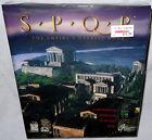 Spqr The Empire's Darkest Hour Vintage Big Box Pc Computer Game Sealed 1996 Rare