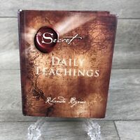 The Secret Daily Teachings by Rhonda Byrne New Hardback Book