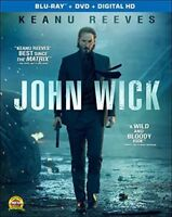 John Wick Blu-ray + DVD + Digital HD