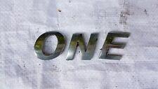 MINI Cooper One Posteriore Coperchio BOOT EMBLEM BADGE Decalcomanie Logo