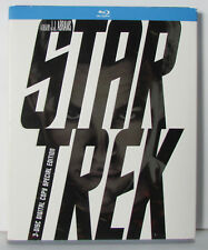 Star Trek 2009 Blu-ray 3-Disc Digital Copy Special Edition with slipcover