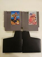 Nintendo NES Double Dribble & MAGIC JOHNSON FAST BREAK Video Game Cartridge