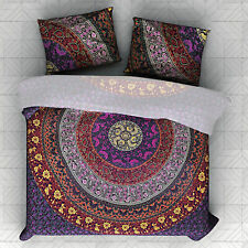 Bedding Set Double Size Quilt Duvet Cover Mandala Hippie Gypsy Indian Cover New
