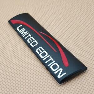Car Glossy Black Metal 3D Limited Edition Logo Emblem Auto Badge Sticker Decal