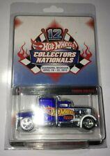 Hot Wheels 12th Annual Collectors Nationals Blue Convoy Custom w/RR's # 18 /2400