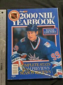 2000 NHL Yearbook WAYNE GRETZKY RETIREMENT TRIBUTE STATS PHOTOS DRAFT PICKS