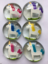 Unicorns Unicorn glass gems Large  HP  PARTY FAVORS  birthday Christmas gift