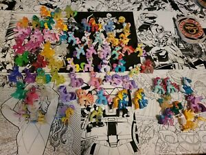 My little pony blind bag lot 60+ from series 1 onward. Some really rare!