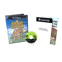 Animal Crossing (Nintendo GameCube, 2002) In Box No Manual or Memory Card Tested