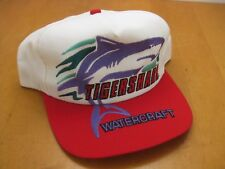 Vtg Arctic Cat Tigershark Watercraft Jet Ski Trucker Hat Snapback Baseball Cap