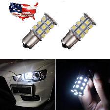 2X HID Cool White 1156 LED Bulbs For Mitsubishi Lancer Evo DaY Running Light DRL
