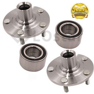Pair(2) Front Wheel Hub & Bearing Assembly Fits 2007-2014 Mitsubishi Outlander