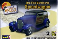 Dan Fink Metalworks Speedwagon California Wheels  Revell Model Kit New