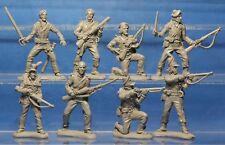 Plastic Toy Soldiers Napoleonic Wars British Army British 95th Rifle 1/32 54 mm
