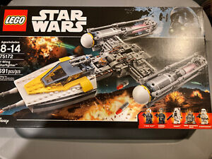 Lego 75172 Star Wars Y-Wing Starfighter.Retired New Sealed In Box