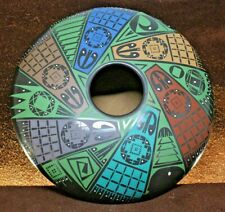 New ListingMata Ortiz Paquime Pottery FolkArt Hand Coiled Intense Pinwheel Design See Video
