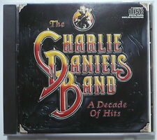 CHARLIE DANIELS BAND - A decade of hits - US-CD