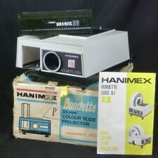 Hanimex Rondette 500S QI 35mm Colour Slide Projector Vintage Camera Viewer Film