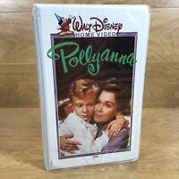 VTG Walt Disney Home Video Pollyanna VHS 1960 MCMLX Rare Clamshell Case