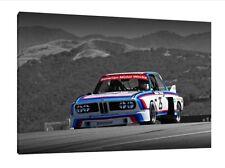 BMW 3.0 CSL - 30x20 pollici CANVAS-STAMPA FOTO INCORNICIATA
