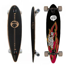 Easy People Longboards PT-0 Pintail Drop Through Longboard Complete Deck  Hot St