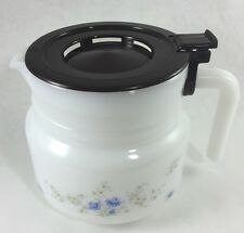 Vintage Arcopal Milk Glass Coffee Tea Pot Server France ARC Romantique