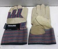 1 Pair Thinsulate Insulation Men's Winter Work Gloves 100 Gram Size Medium