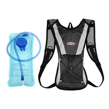 Hydration Pack Water Backpack 2L Bladder Bag Cycling Bicycle Hiking Climbing