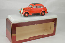 "Rextoys #49 1935 Ford Fire Chief Car  4 1/8"" Long France Mint W/Box & Display"