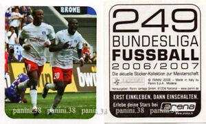 "RARE !! Sticker VINCENT KOMPANY ""BUNDESLIGA FUSSBALL 2006-07"" Panini ROOKIE"