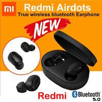 Original NEW XIAOMI Redmi AIRDOTS WIRELESS EARPHONE W/ CHARGER BOX Bluetooth 5.0