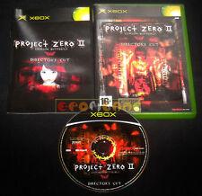 PROJECT ZERO II 2 CRIMSON BUTTERFLY XBOX Versione Italiana •••• COMPLETO