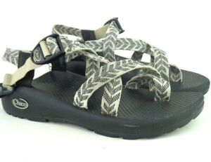 Womens Chaco Z2 Classic Sport Hiking Sandals US Size 8 Trine Bow Black White