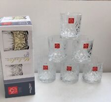 RCR Crystal Glass Set Of 6 Whiskey Glasses