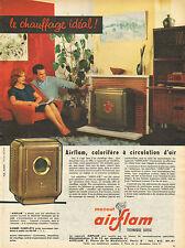 Publicité  ///  Le chauffage idéal !  MAZOUT airflam