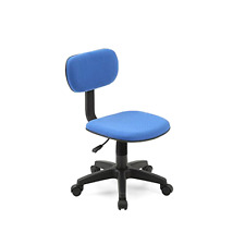 Beau Armless Task Chair Classic Computer Desk Swivel Chair Office Dorm Kids Seat  NEW