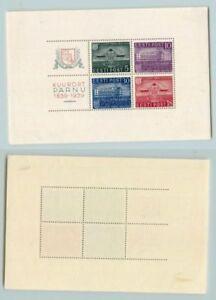 Estonia 🇪🇪 1938 SC 147a mint Souvenir Sheet . f3572