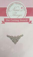 Nini's Things Corner No. 1 cutting stencil set die dies Elegant scrapbook