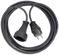 1165480 Brennenstuhl 25m Kunststoff Verlängerungskabel schwarz, H05VV-F 3G1,5