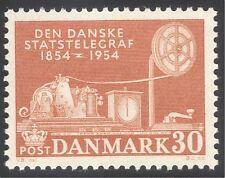 Denmark 1954 Telegraph/Communications/Telecommunications/Telecomms 1v (n37379)