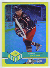 11-12 OPC O-Pee-Chee Rick Nash In Action #A7 Mint