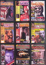 FANGORIA SCI-FI MOVIE MAGAZINE 1992 COMIC IMAGES COMPLETE BASE CARD SET OF 90