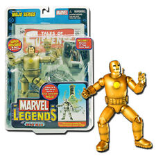 Marvel Legends 14 Mojo Series 1st Appearance Iron Man Gold Variant - Toybiz