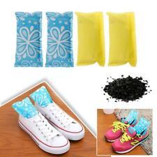 2Pcs Shoes Deodorizer Bag Carbon Odor Eliminator Bamboo Charcoal Air Purifier