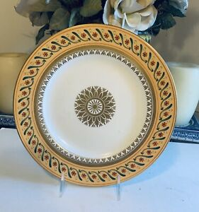 """TIFFANY CO Le Tallec Private Stock """"DIRECTOIRE"""" DINNER PLATE French Porcelain"""